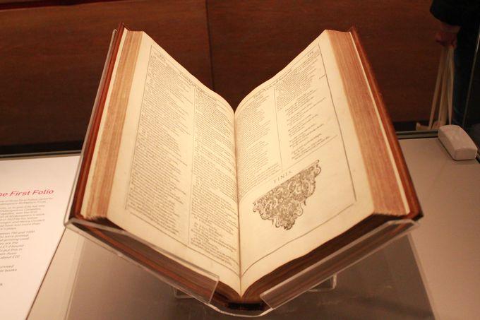 世界で最も価値のある書物「ファースト フォリオ」