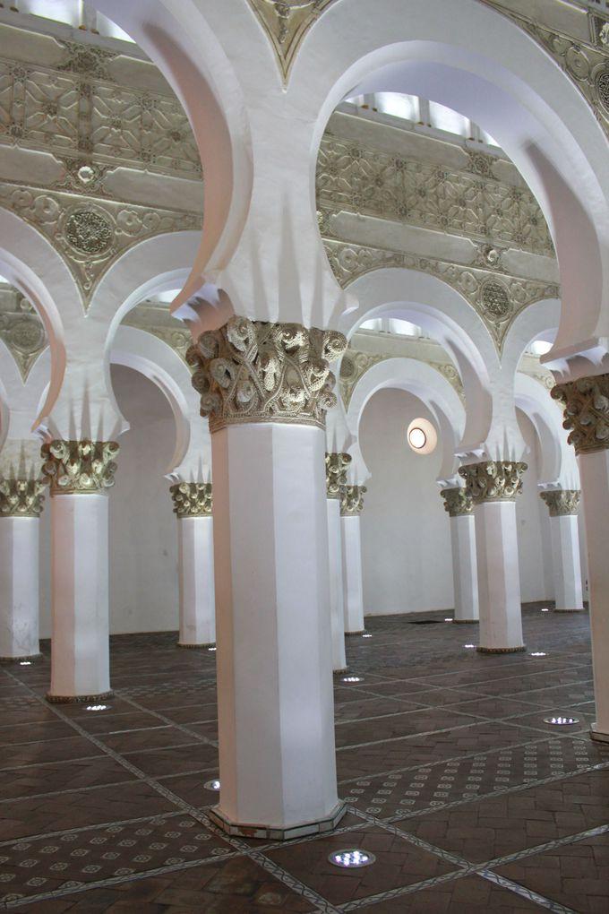 かつてのシナゴーグ「サンタ・マリア・ラ・ブランカ教会」