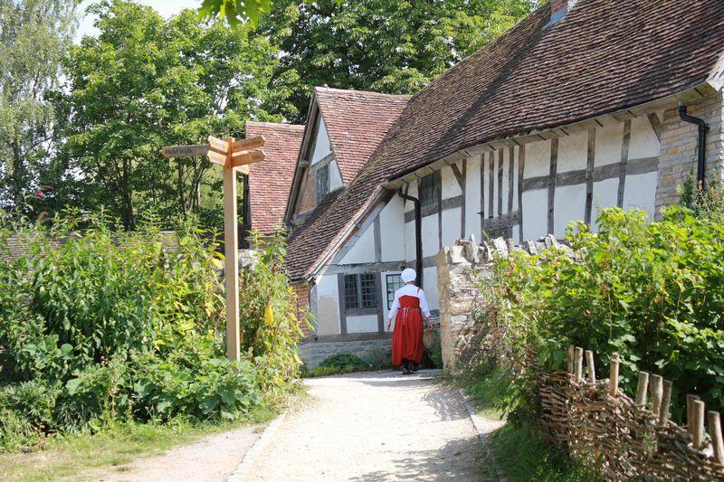 英国ストラトフォード・アポン・エイボン「メアリー・アーデンの家」シェイクスピアの母を育んだ農場