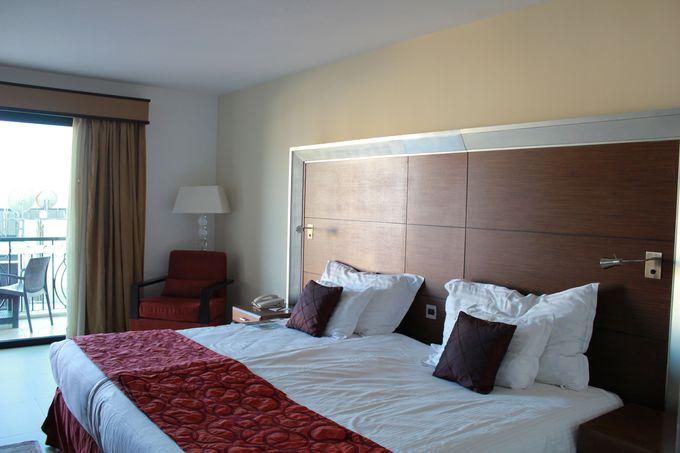 広い客室と眺めの良い窓