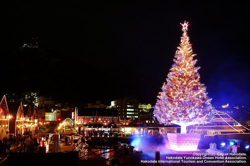 ロマンチックな聖夜を函館で「はこだてクリスマスファンタジー」