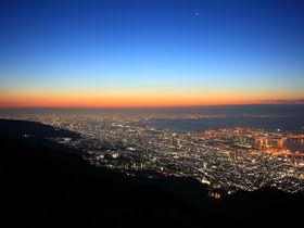 まるで地を這う天の川!「六甲山」おすすめ夜景スポット4選|兵庫県|トラベルjp<たびねす>