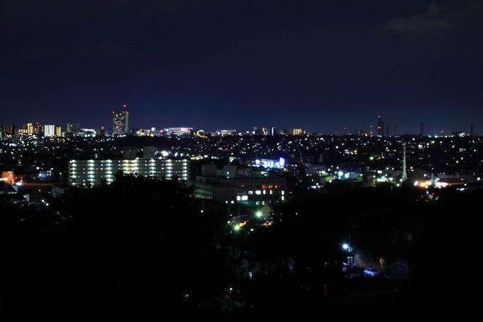 「成瀬山吹緑地」から見る花火は混雑知らずの穴場花火鑑賞スポット!