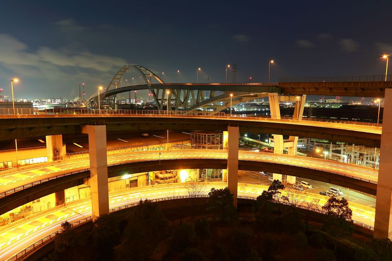 意外と知られていない大阪ベイエリアの橋上夜景スポット4選