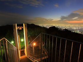大阪平野の夜景を二人占め!信貴生駒スカイライン沿いの夜景スポット|大阪府|トラベルjp<たびねす>