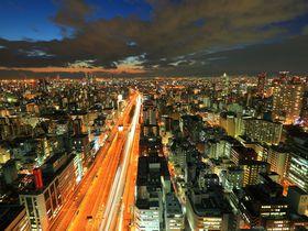 極上パノラマ夜景に感動!大阪本町の「オリックス本社ビル」展望フロアー|大阪府|トラベルjp<たびねす>
