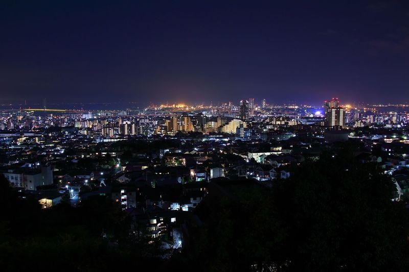 夜景ファン必見!神戸市の六甲山麓究極穴場夜景スポット3選