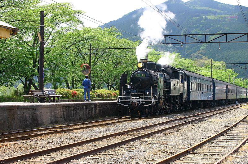 レトロさに惚れ惚れ!静岡の大井川鐵道沿線風景は昭和のまま!
