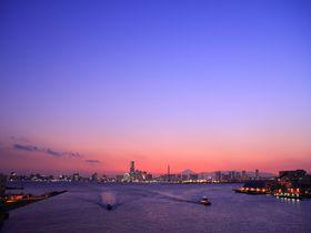みなとみらい夜景を一望!パノラマ度合が凄い横浜「大黒大橋」|神奈川県|トラベルjp<たびねす>