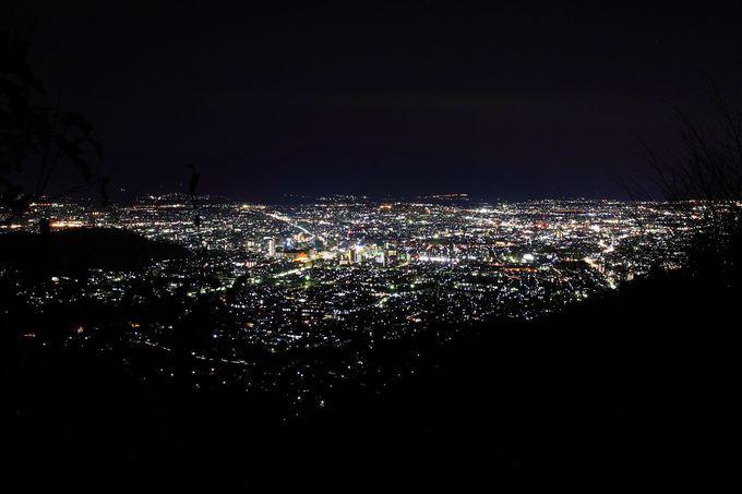 10.夜景スポット みはらし広場/和田峠みはらし広場