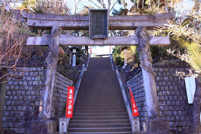 第一京浜沿いに門を構える「品川神社」