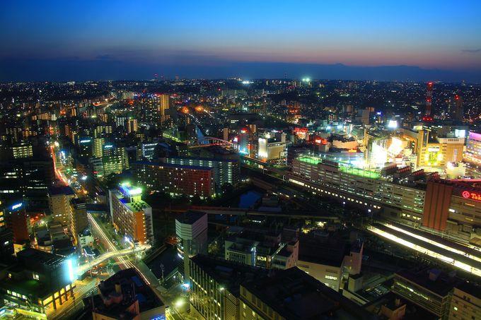 「横浜ランドマークタワー」、「横浜マリンタワー」、「横浜スカイビル」の展望室系