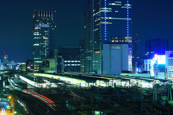 東京駅全体を一望!7階最北端のラウンジ