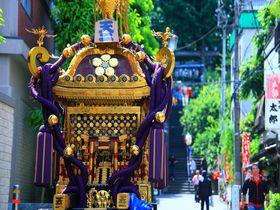 学問の神様を祀る「湯島天神」で一足早い夏祭を体験しよう!|東京都|トラベルjp<たびねす>
