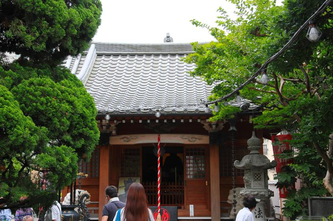 ほおずき市の会場となる「源覺寺」