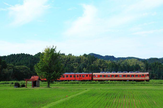 今では大変貴重になった祠を見ることができる「大多喜駅〜小谷松駅」