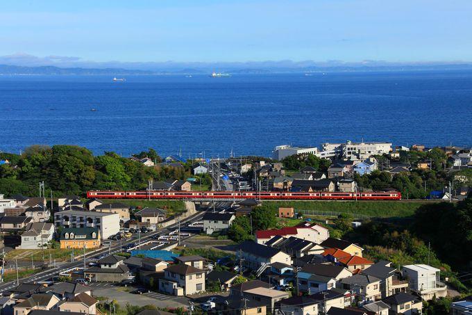 「聖徳久里浜霊園」は高台なので眺めが非常に良い!