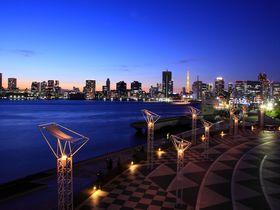インスタ映え間違いなし!日没後の東京「晴海客船ターミナル」