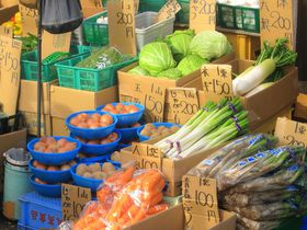 地野菜も買える!横浜駅に近いハマのアメ横「松原商店街」