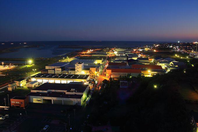 南側は港町を連想させる光景が広がっている!