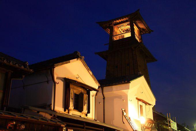 日没後の「時の鐘」は小江戸の夜を象徴!埼玉「川越」の街並み