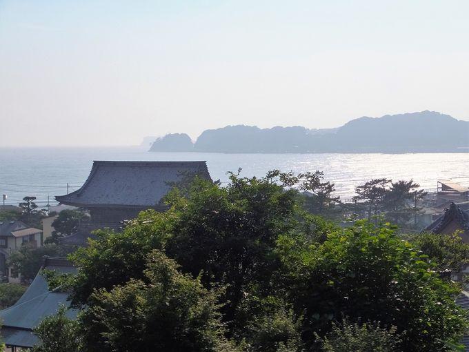 鎌倉の海を一望!