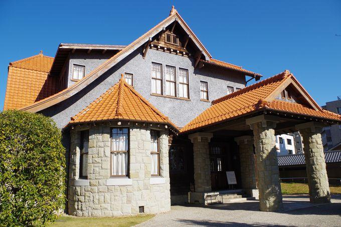 大正時代のセレブが暮らした美しい建物
