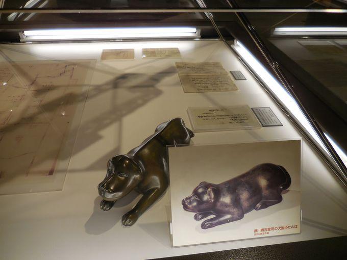 5代将軍綱吉による犬の保護施設「御囲」の古地図と、愛用湯たんぽは必見!
