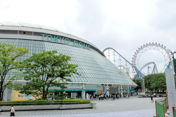 「東京ドームシティ」は娯楽満載の都市型エンターテイメント