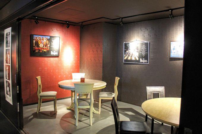 ギャラリー見学のあとは併設カフェでひとやすみ
