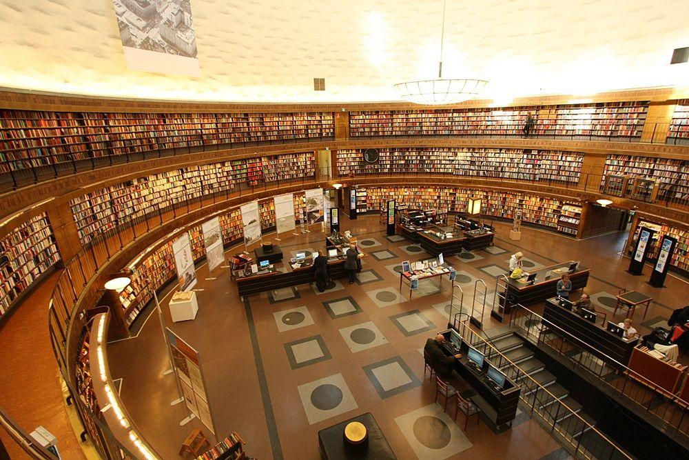 話題の『図書館戦争』ロケ地のモデルはストックホルムにあり!