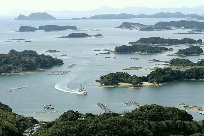 「西海国立公園 九十九島」で絶景やアクティビティを楽しむ