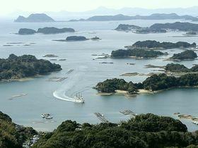 3つの展望台&海から堪能!長崎県「九十九島」の絶景|長崎県|トラベルjp<たびねす>