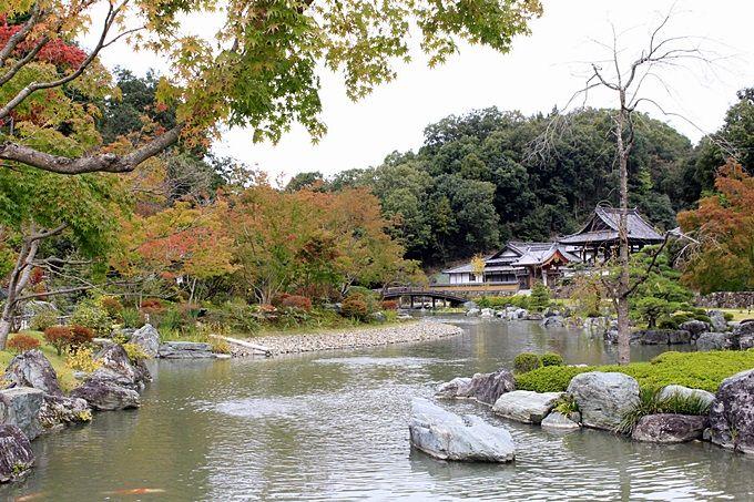 美しい庭園は、まさに桃源郷!