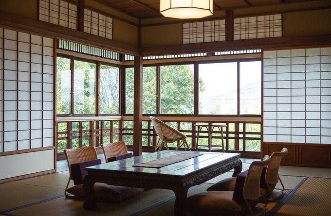 茶室、煎茶室、月見台を備え「出雲屋敷」は風雅そのもの