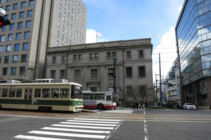 「被爆建物」旧日銀広島支店、内部は無料で見学可能