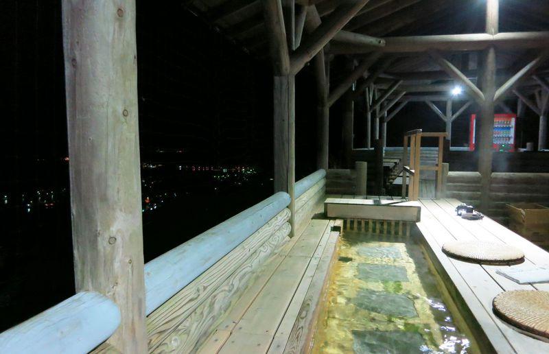 萩の夜景を見下ろす展望足湯でほっこり!源泉の宿「萩本陣」