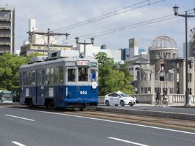 被爆電車653号に乗って、広島の平和を味わう旅を!
