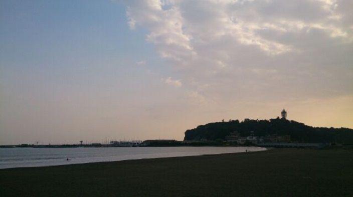 江の島と海が綺麗にみえる絶景ポイントです!