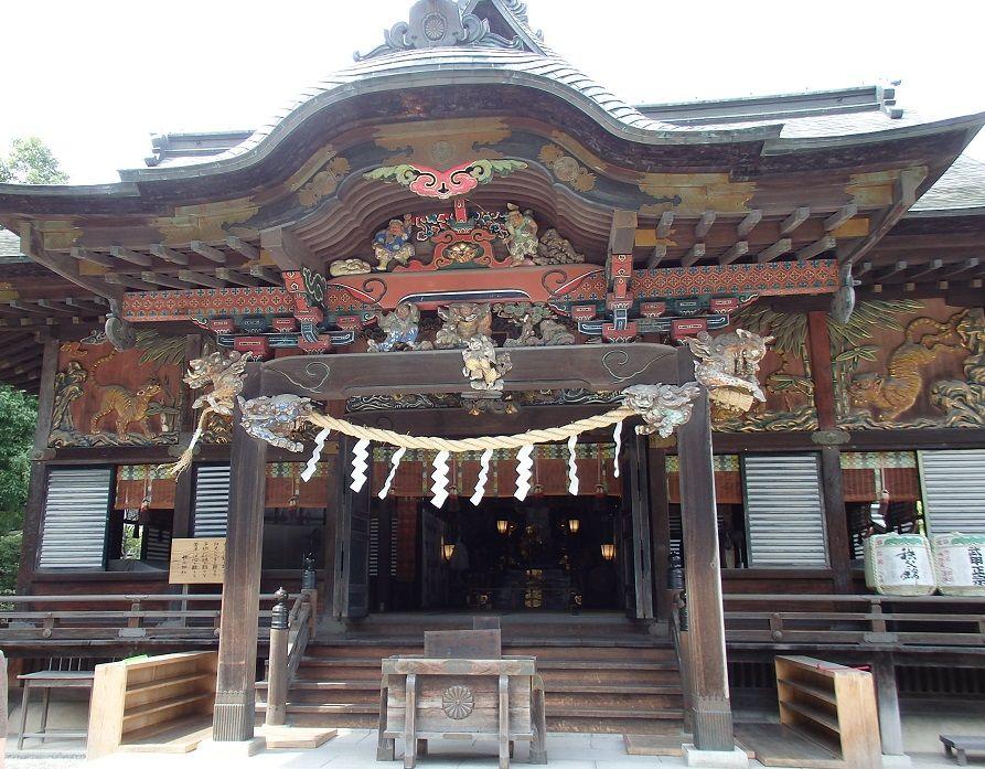 左甚五郎作の彫刻が必見の秩父神社