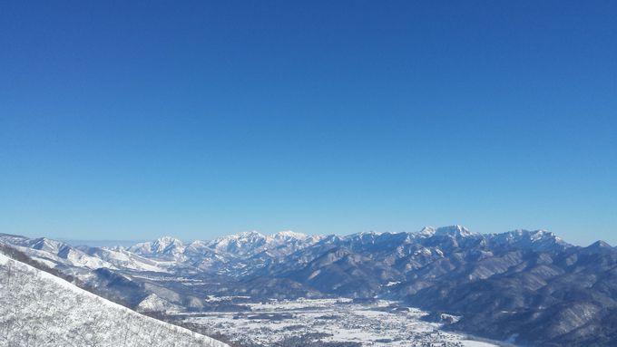 360度の絶景山脈ビュー