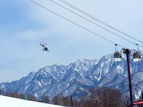 ヘリコプターで標高2200mの世界へ!長野・白馬「栂池高原スキー場」|長野県|トラベルjp<たびねす>