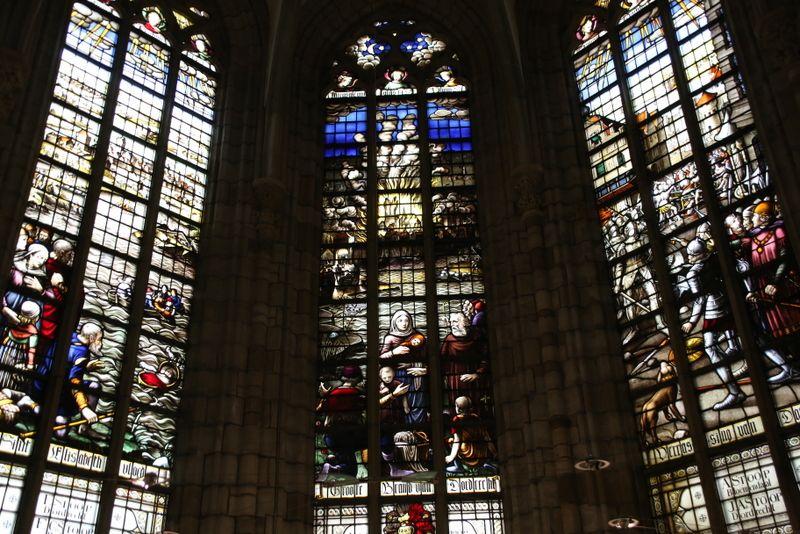 教会の内部もご注目
