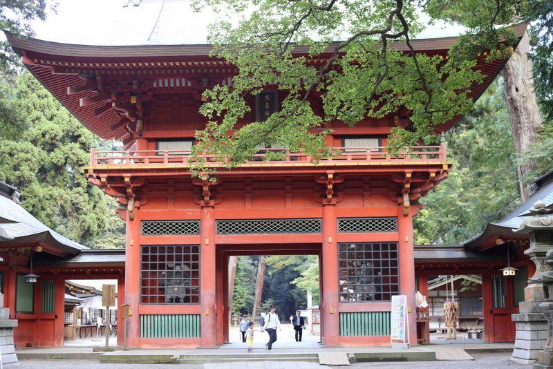 関東最古の神社へ