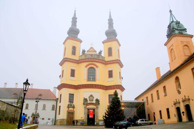 外観と内部が全然違う雰囲気の教会