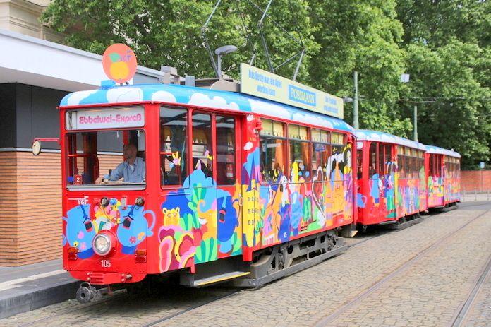 かわいいリンゴ酒電車に乗って「フランクフルト市内」をぐるり!