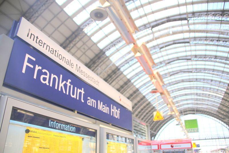 いざヨーロッパ大陸へ!ここから始まる鉄道旅「フランクフルト中央駅」