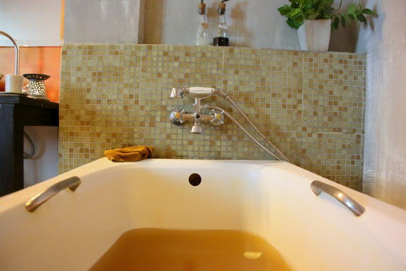 天然ハーブたっぷりのお風呂