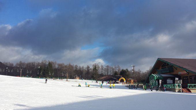 滑りと全国屈指の温泉街を満喫!群馬「草津国際スキー場」