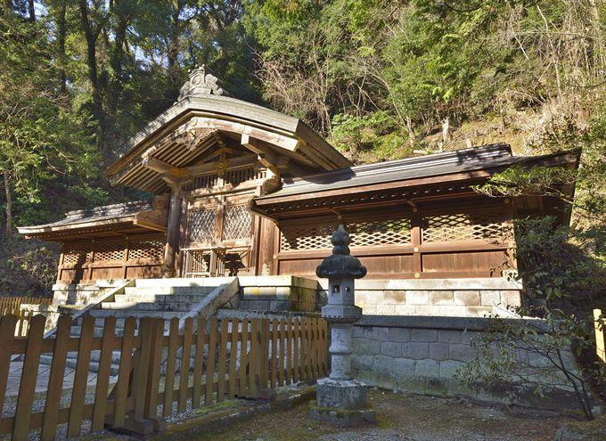 金鑚神社の境内の見所